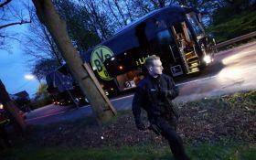 Вибухи біля футбольного автобуса в Дортмунді: знайдена записка