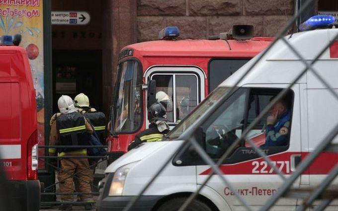 СКР установил личность устроившего взрыв вметро Петербурга мужчины