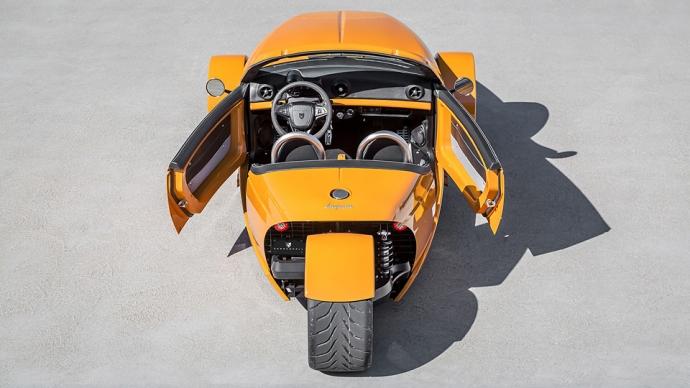 Компания Vanderhall представила трехколесный 200-сильный автомобиль (4 фото, видео) (1)