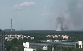 В Киеве вспыхнул масштабный пожар возле ТЭЦ-6: опубликованы первые фото