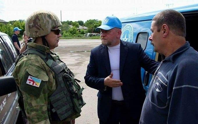 З полону бойовиків звільнений український військовий: опубліковані фото