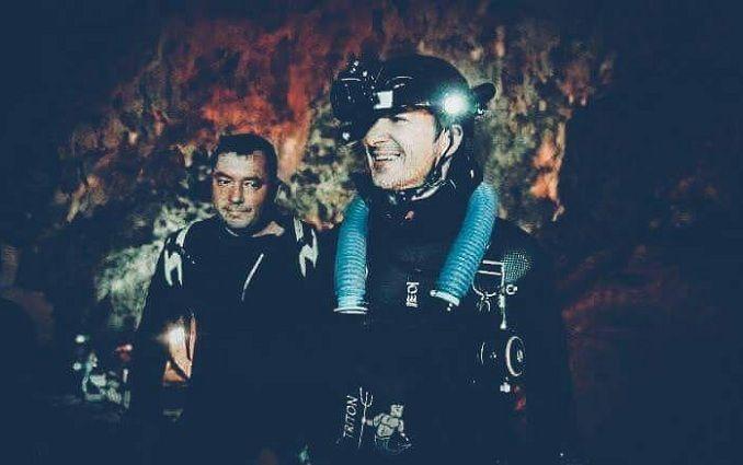 Українські дайвери допомагали рятувати дітей із печери в Таїланді