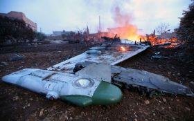 У Сирії збили російський штурмовик Су-25: з'явилися дані про пілота і відео