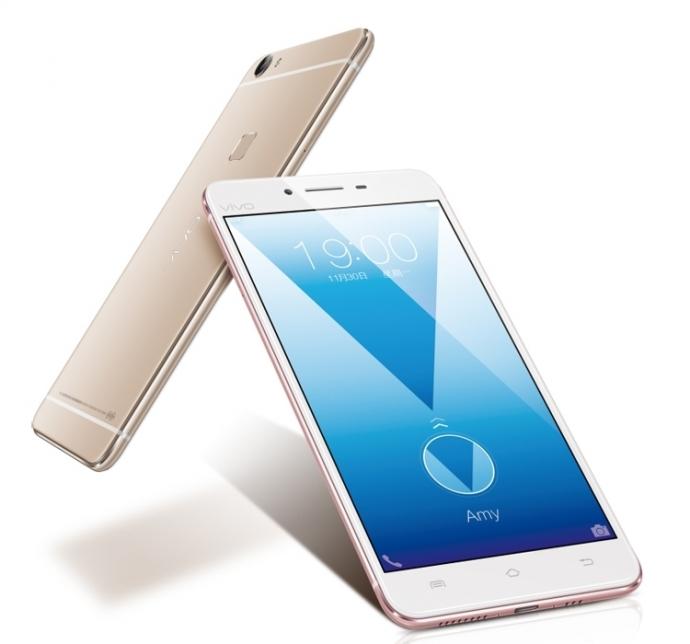 Смартфон Vivo X6S Plus в розовом цвете прошёл сертификацию TENAA (4 фото)