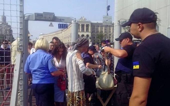 У поліції озвучили перший звіт щодо хресної ходи в Києві