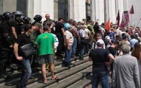 Масштабный митинг в центре Киева: есть пострадавшие и задержанные