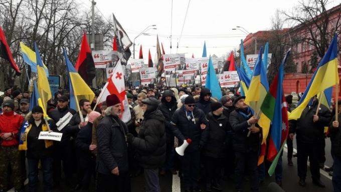 """В Киеве проходит """"Марш за импичмент"""": тысячи людей вышли на акцию протеста (1)"""