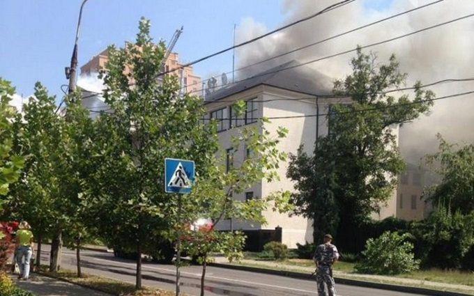 Розкрито таємницю гучної пожежі в окупованому Донецьку