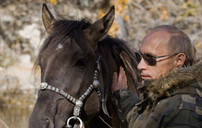 Путін зібрався до коней: в мережі злобно жартують