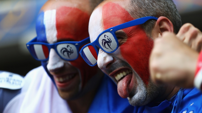 Евро-2016: хронология матчей третьего тура в группе А (16)