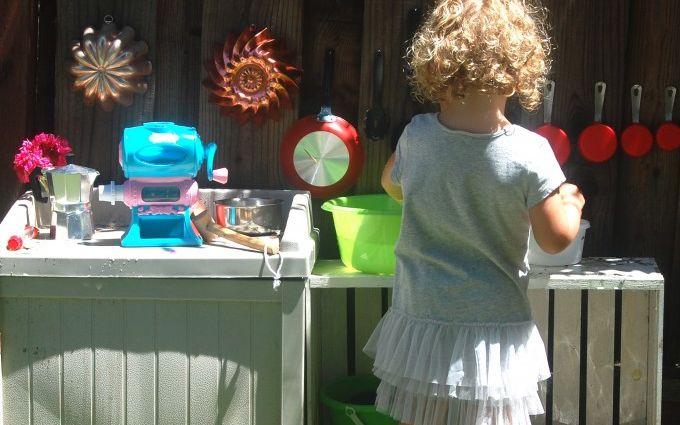 Как сделать детскую кухню своими руками: яркие фото
