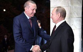 Путін осоромився на зустрічі з президентом Туреччини: опубліковано відео