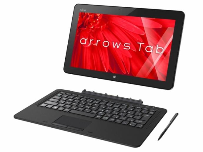 Fujitsu представила 12,5-дюймовий гібридний планшет Arrows Tab RH77 / X (2)