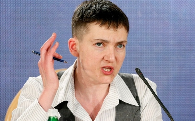 Савченко знову заявила, що готова говорити з ватажками ДНР-ЛНР: з'явилося відео