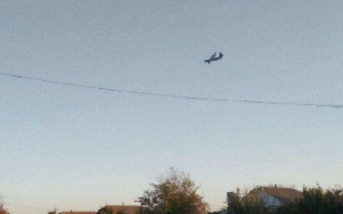 На місці падіння Су-27 знайшли чорну скриньку