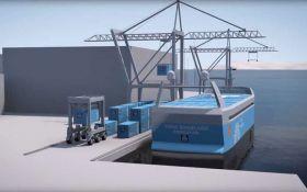 В Норвегии создают первый в мире электрический беспилотный корабль: появилось видео
