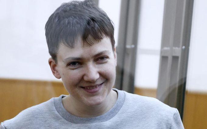 Савченко ответила на фейки пранкеров одним словом: опубликовано фото