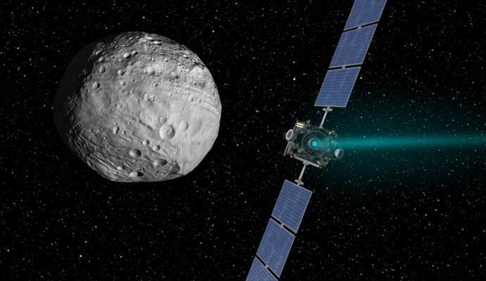 Опубликовано видео полета над поверхностью Цереры - NASA