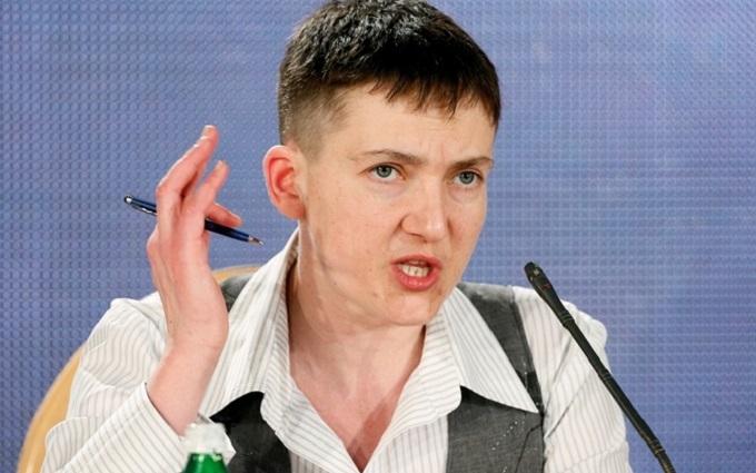 З'явилося відео дуже жорстоких слів Савченко про Путіна
