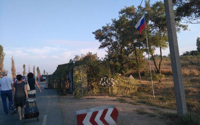 Українець розповів про знущання ФСБ на КПП в Криму