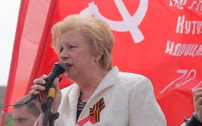 В Україні заарештована видна комуністка: підозрюють у сепаратизмі