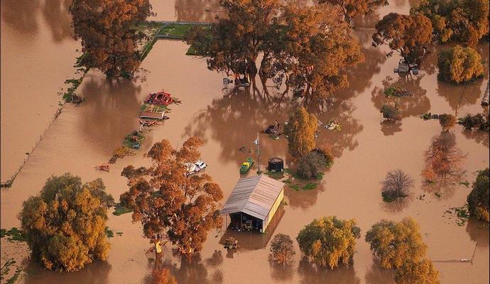 В Австралии объявили эвакуацию по причине наводнения