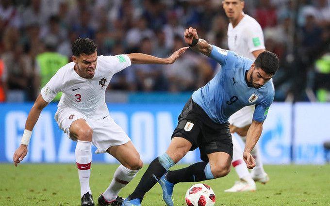 Матч Уругвай - Португалия в 1/8 финала ЧМ-2018: результаты и зрелищное видео голов