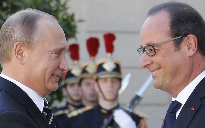 У Путіна відповіли на незвичайно жорстку заяву президента Франції