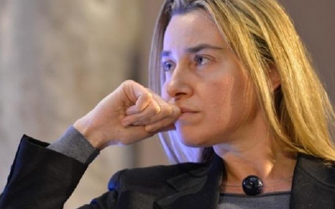 Могерини расплакалась, говоря о терактах в Брюсселе: появилось видео