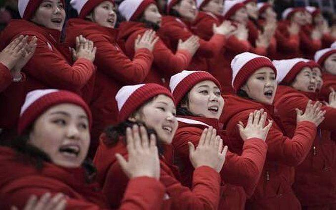 Північна Корея здивувала перформансами на Олімпіаді-2018: опубліковані яскраві відео