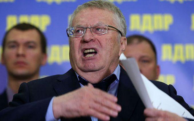 Жириновського запідозрили у посяганні на Україну