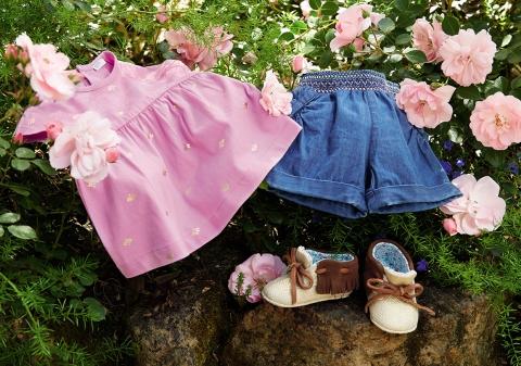 """Весенняя одежда для девочек от United Colors of Benetton уже появилась на """"Розетке"""""""