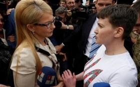 Савченко розповіла, що думає про Тимошенко