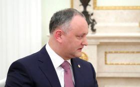 Додон о частых визитах в РФ: я исправляю ошибки