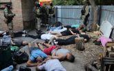 """У Кропивницькому затримано 27 озброєних учасників кримінальної """"сходки"""": опубліковано відео"""