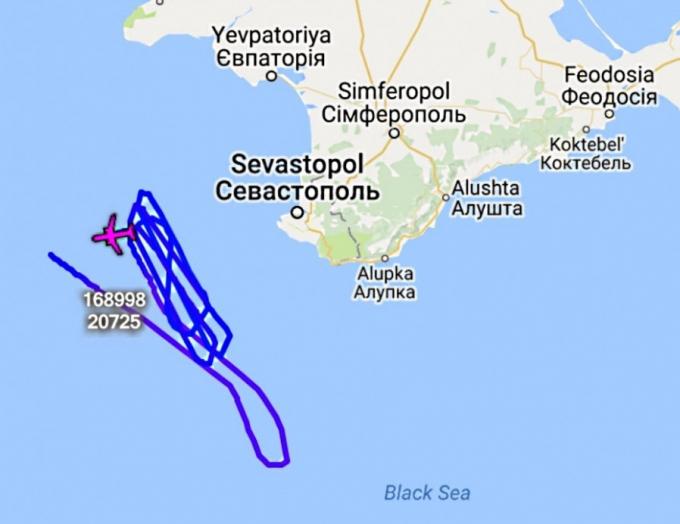 Военные самолеты США провели новую разведку над Крымом и Балтикой (1)