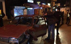 Колишній міліціонер влаштував п'яну ДТП в Києві: з'явилися фото і відео
