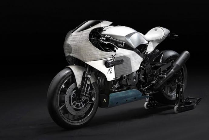 Майстри Praem представили Honda VTR 1000 SP1, який отримав алюмінієвий дротяний обвіс (16 фото)