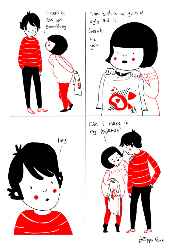 Как прекрасно быть вместе: веселые комиксы о семейной жизни (11)