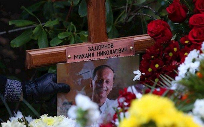 В Латвии похоронили российского сатирика Задорнова: появились фото и видео