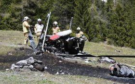 В Австрии разбился вертолет: два человека погибли