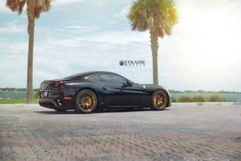 Ferrari California на дисках від Strasse Wheels (10 фото) (10)