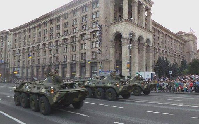 Репетиція параду в Києві: з'явилися нові яскраві відео