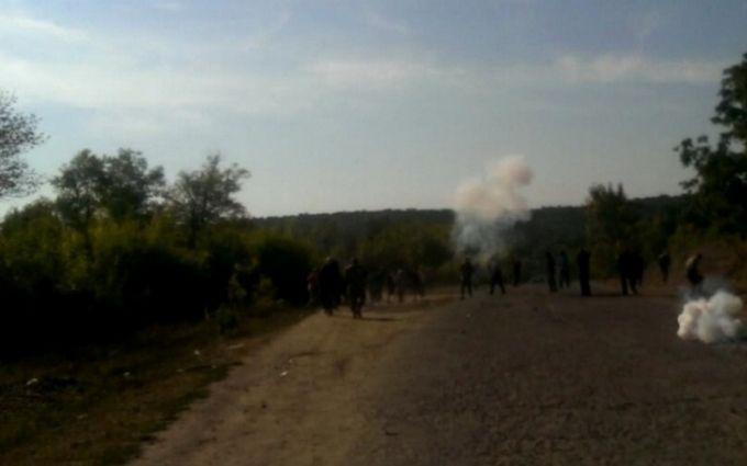 Масове побоїще зі стріляниною розгорілося в Одеській області: з'явилися фото