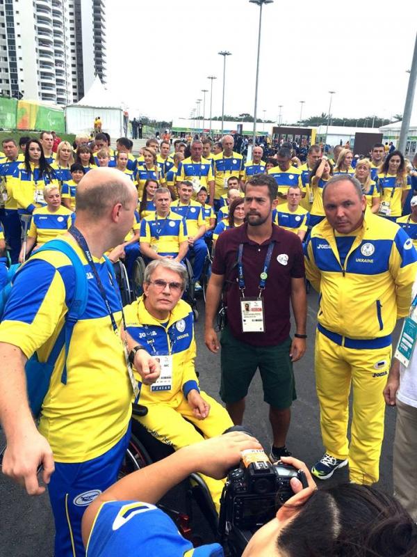 На Паралімпіаді в Ріо піднято український прапор: опубліковані фото (1)