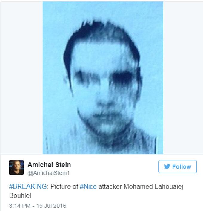 Страшний теракт в Ніцці: в мережі з'явилося фото терориста (1)