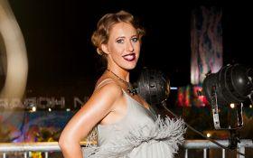 Беременная Собчак в нарядном платье порадовала зажигательным танцем: опубликовано видео