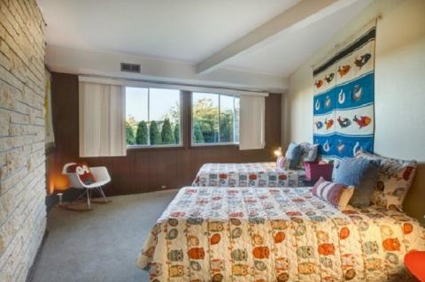 Круті ідеї, який допоможуть з оформленням дитячої спальні в стилі Mid-centry modern (17 фото) (12)