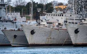 Українські кораблі, захоплені Росією в Криму: оприлюднено повний перелік