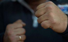 На Полтавщине буйный военком устроил драку: опубликовано видео